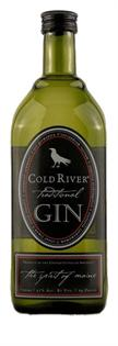 Cold River Gin Traditional 750ml